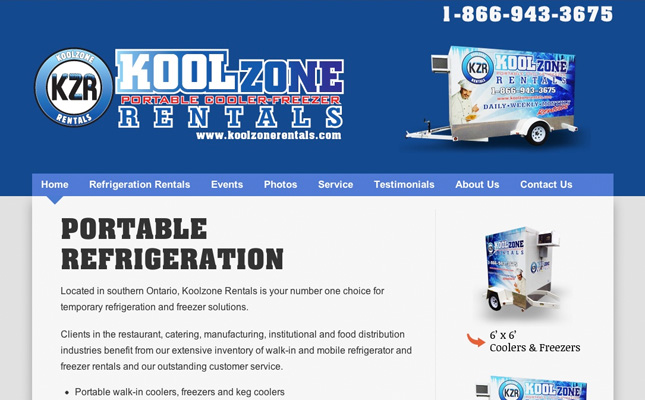 kool-zone-rentals-website