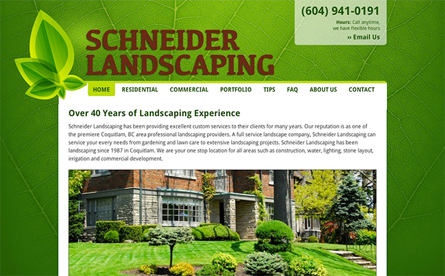 schneiderlandscaping-website