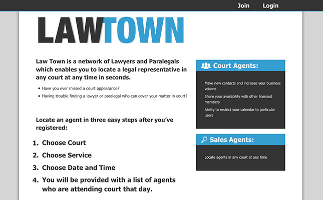 law-town-website