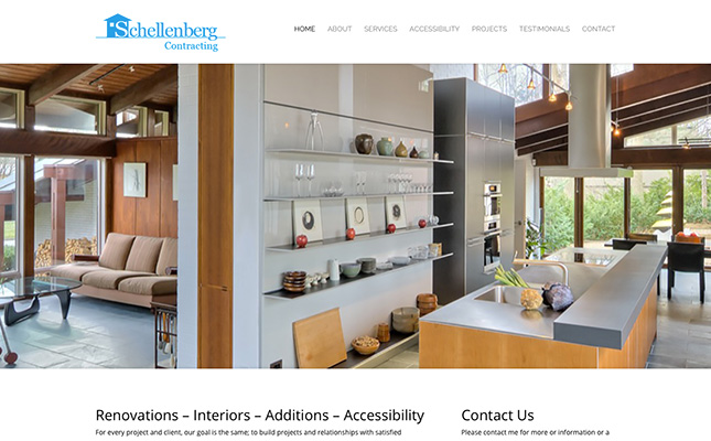 schellenberg-contracting-website