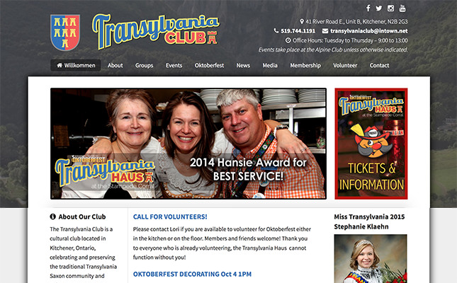 transylvania-club website