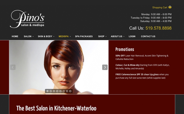 pino-salon-medispa-website