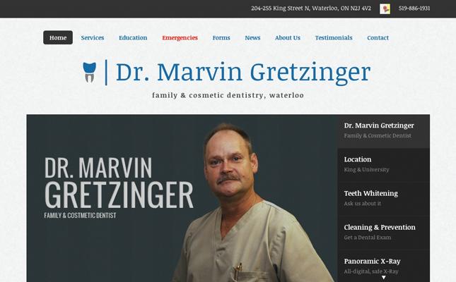 dr-gretzinger-website