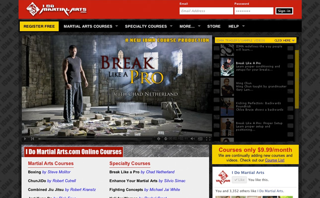 i-do-martial-arts-website