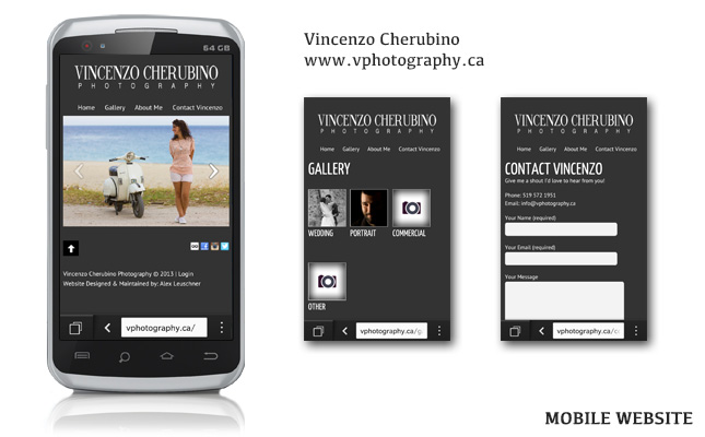 vphotography-mobile-website