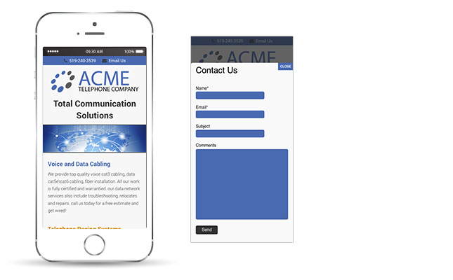 acme-telephone-mobile-website