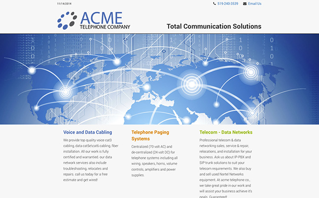acme-telephone-website