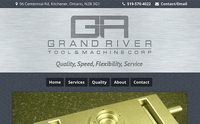 Grand River Tool website 2015
