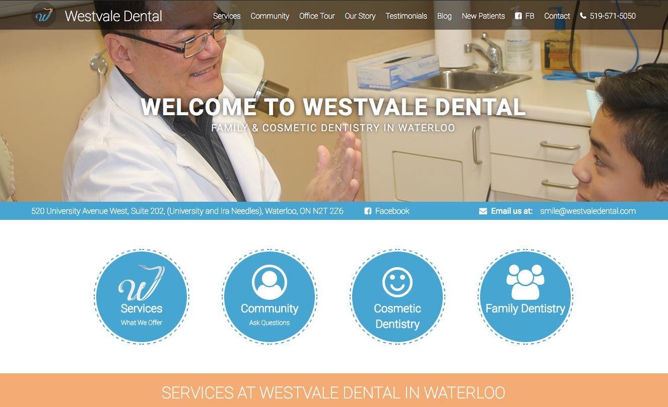Website Design Kitchener Waterloo - Alex Leuschner
